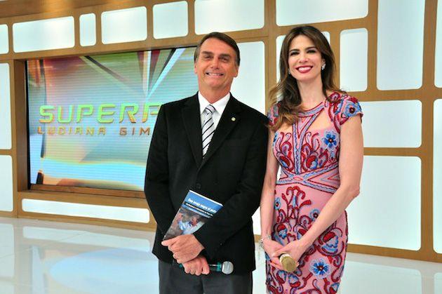 Jair Bolsonaro e Luciana Gimenez