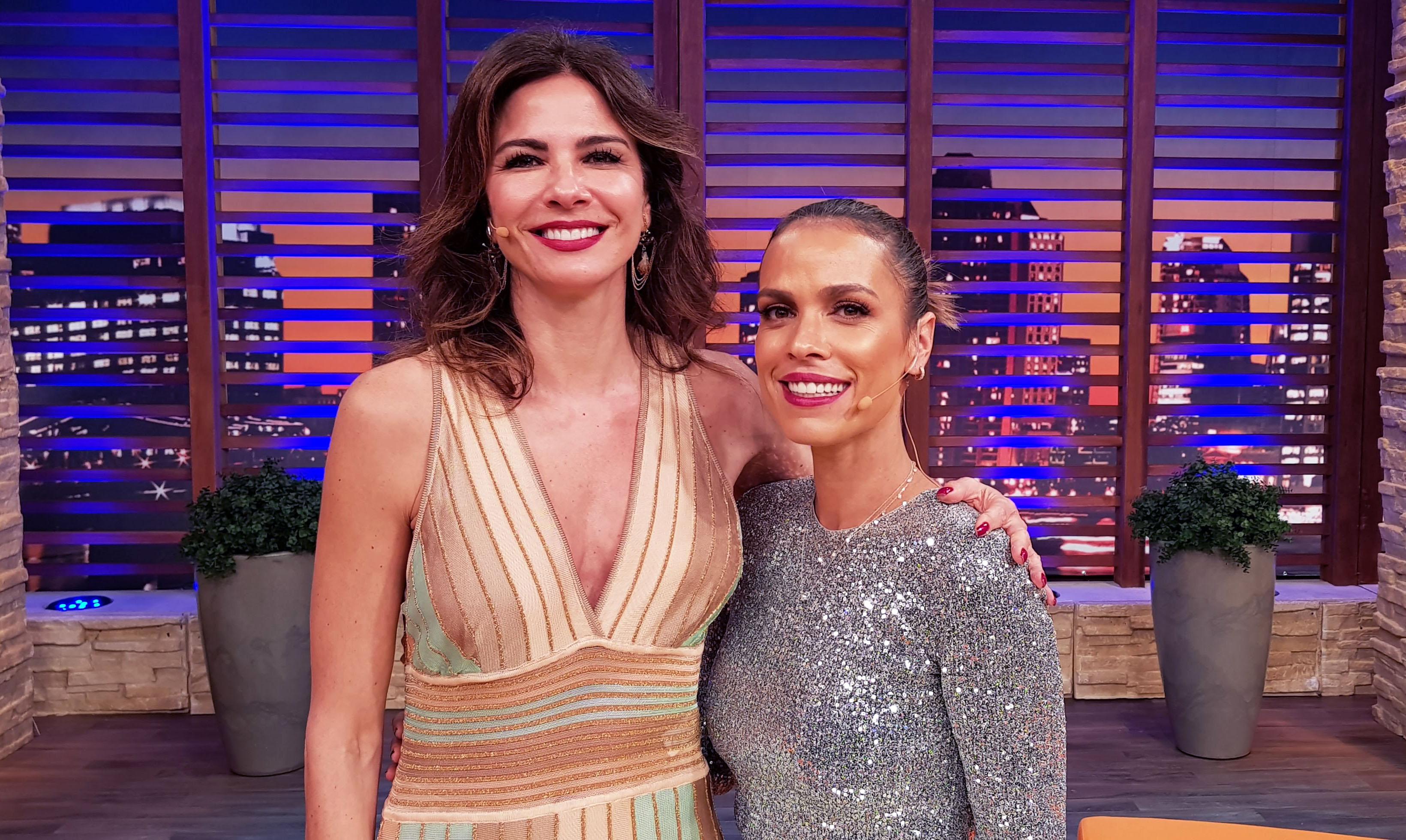 Luciana Gimenez e Lígia Mendes