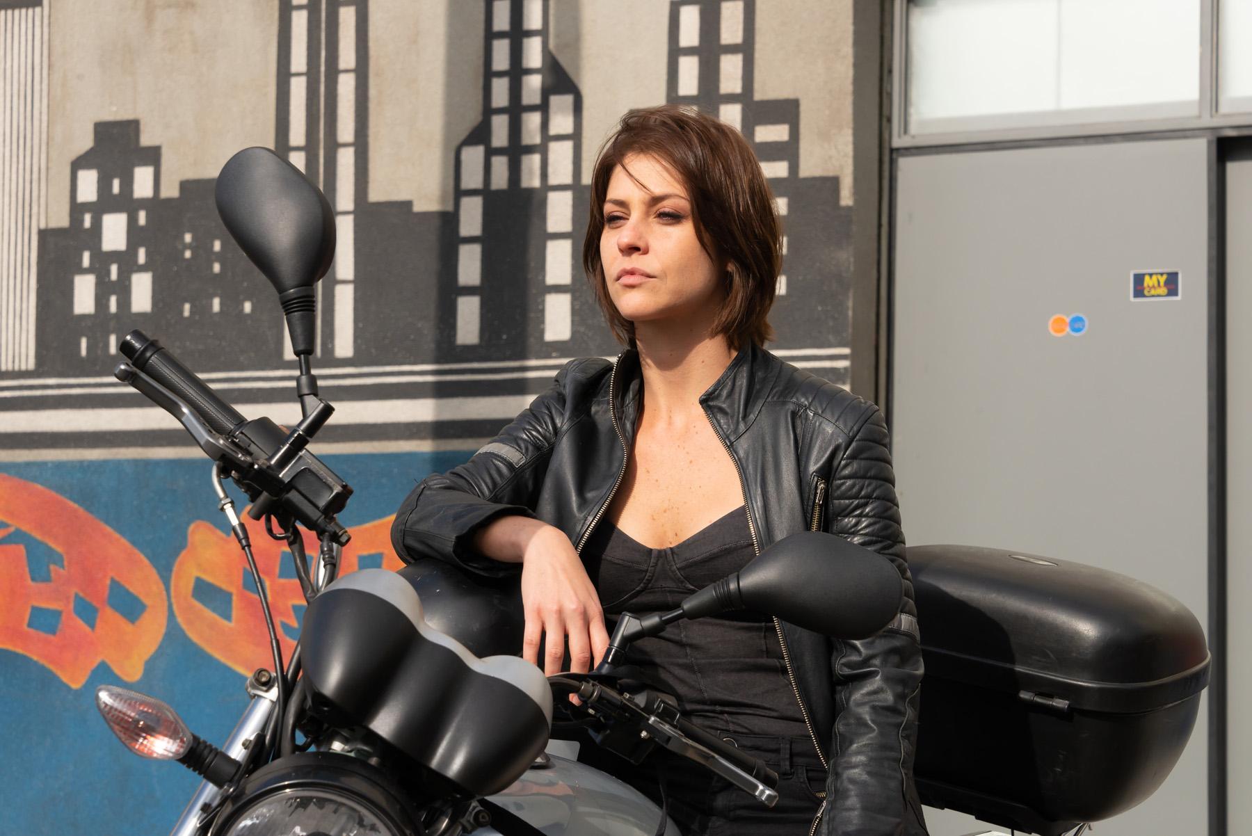A garota da Moto