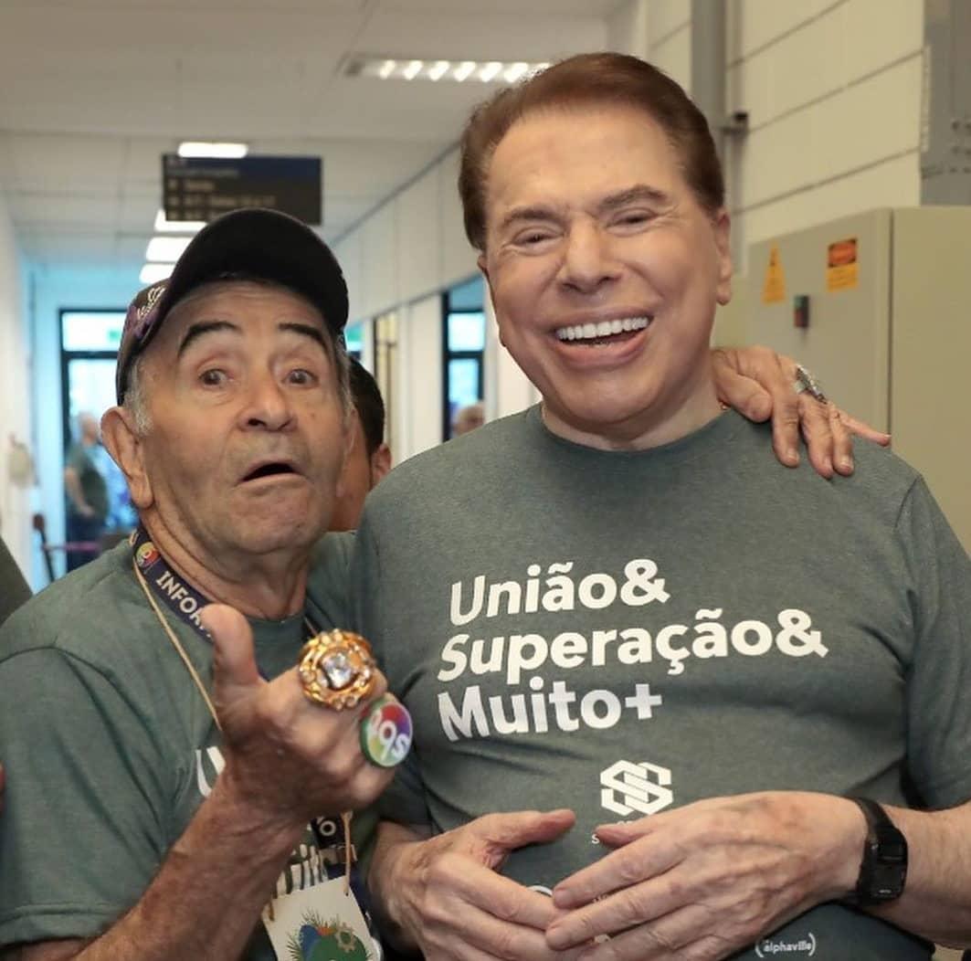 Ivo Holanda e Silvio Santos