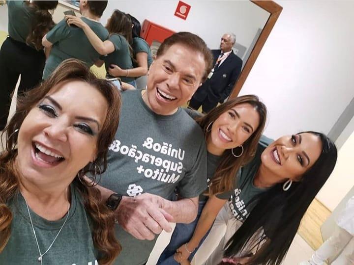 Flor, Silvio, Patrícia e Helen