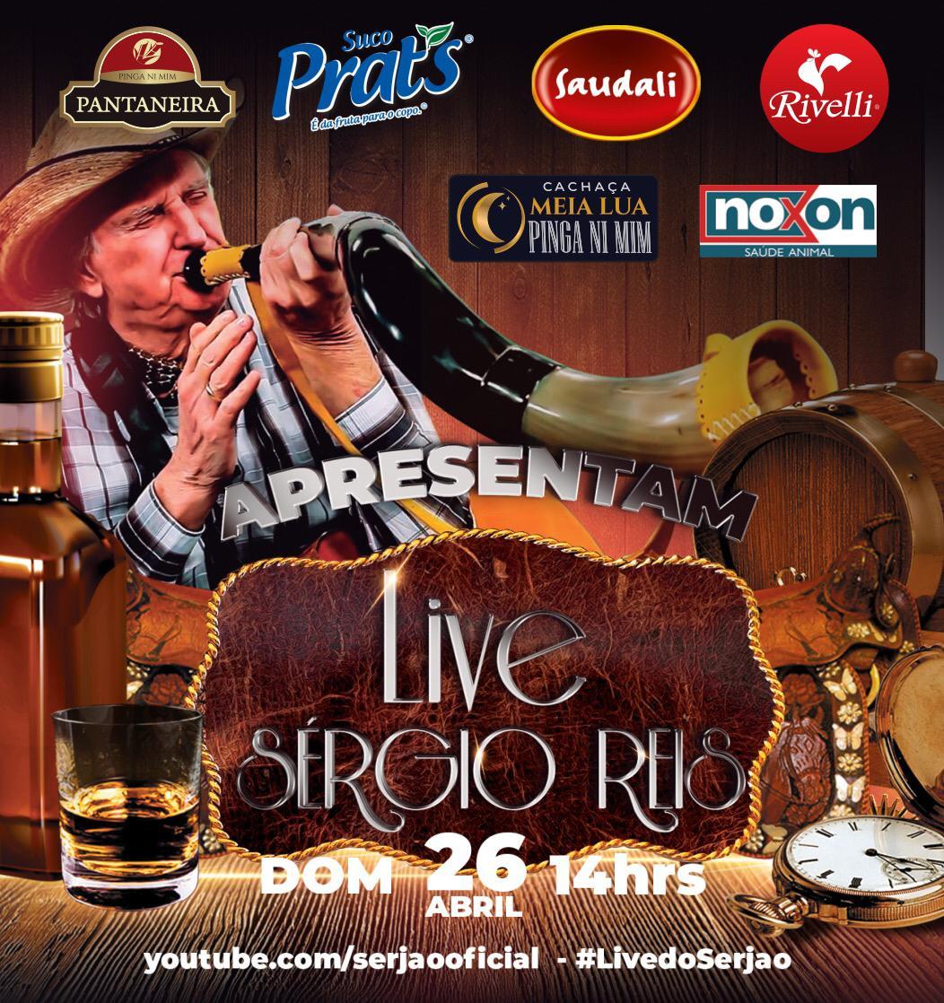 Sergio Reis Live