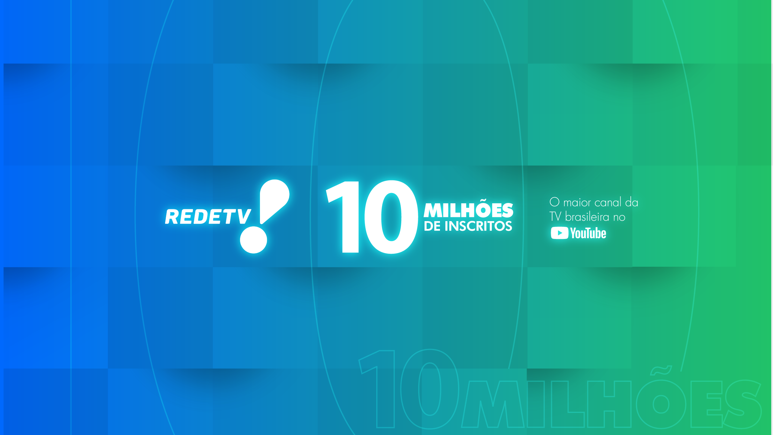 Primeira no Brasil; RedeTV! marca 10 milhões de inscritos no Youtube