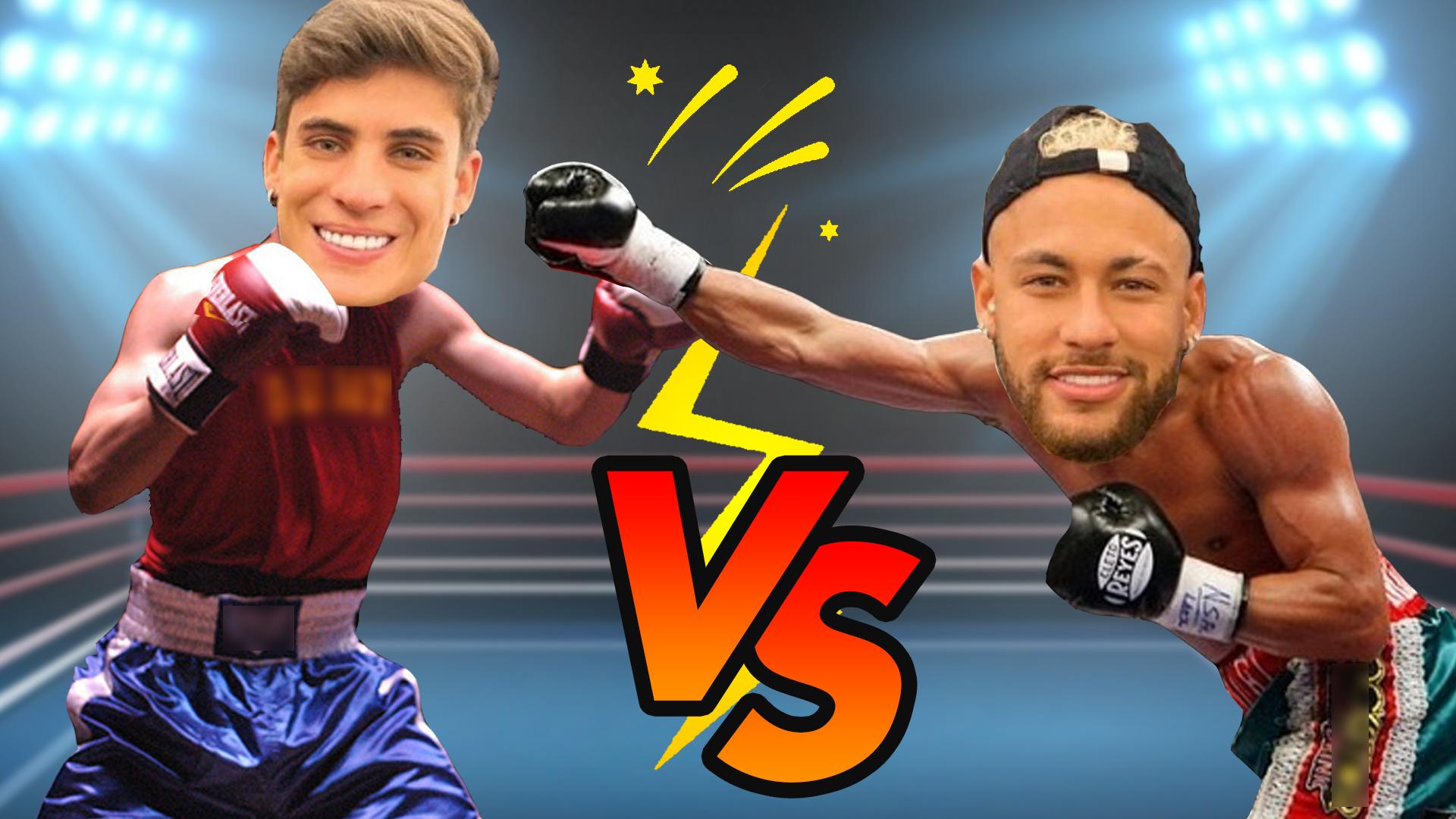 Tiago Ramos e Neymar JR