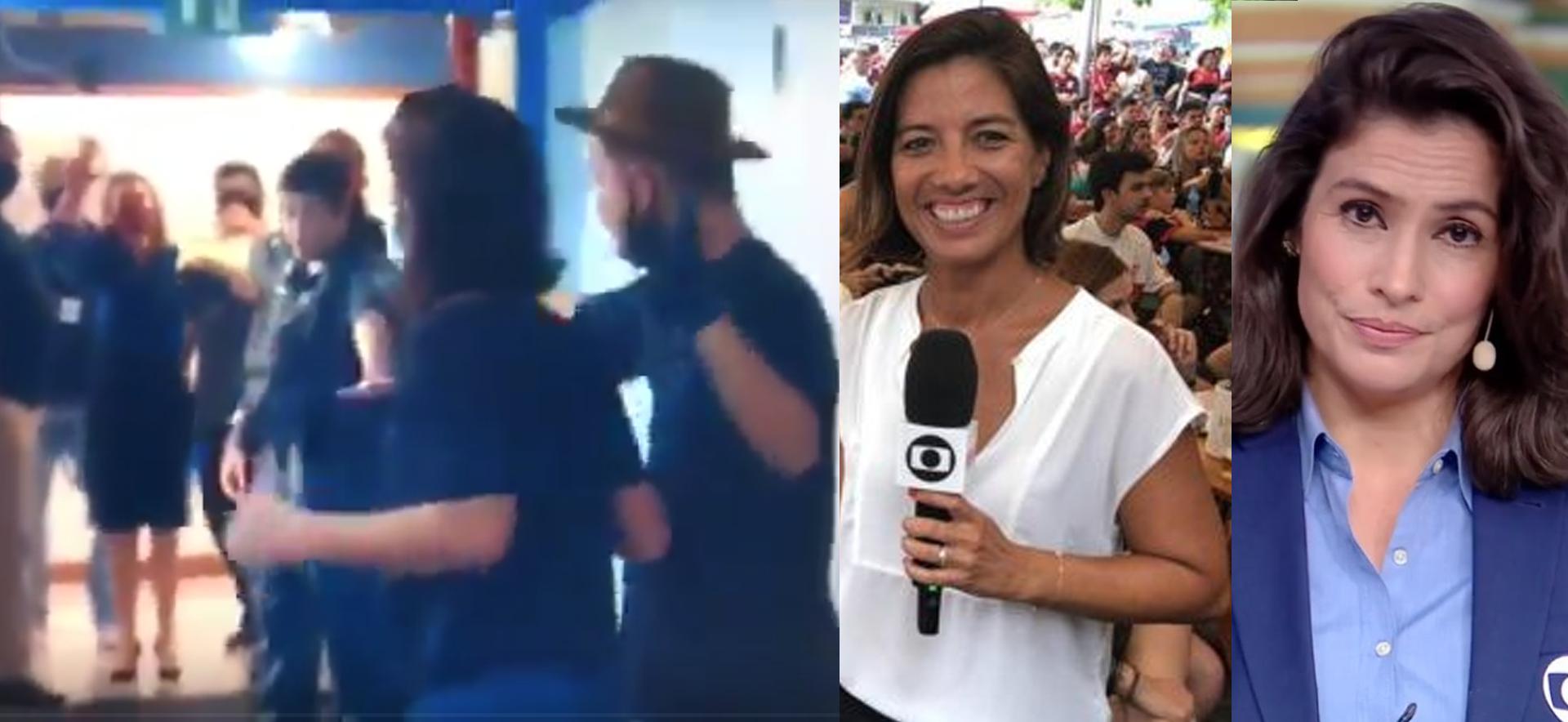Homem invade TV Globo e faz jornalista refém