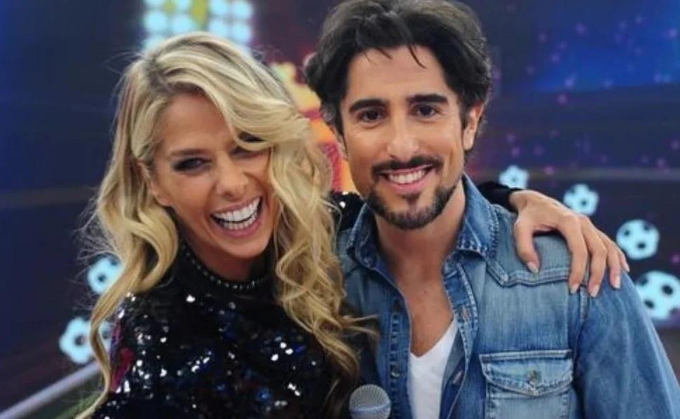 Adriane Galisteu e Marcos Mion